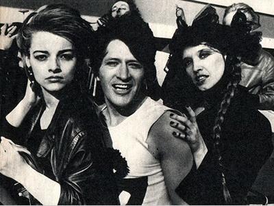 Nina Hagen, Herman Brood, Lene Lovich. Two Girls, One junky