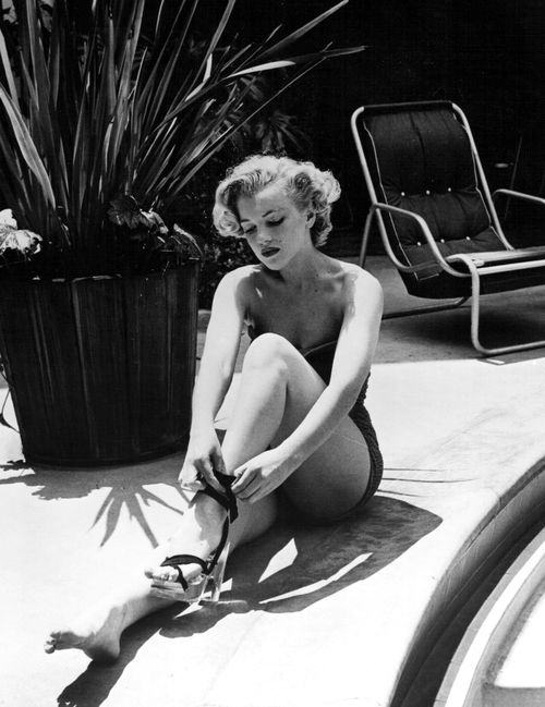 Marilyn Monroe by Phil Burchman, 1951