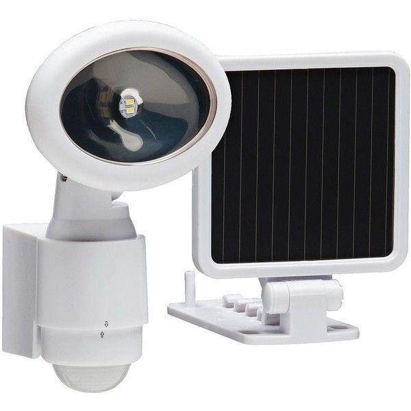 Universal Lighting And Decor Westdale White Solar Led Security Light 47 Liked On