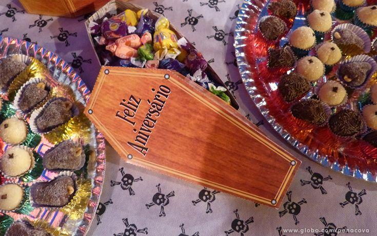 No clima do Dia das Bruxas, inspire-se na decoração do aniversário de Sermancino #PeNaCova | TV Globo