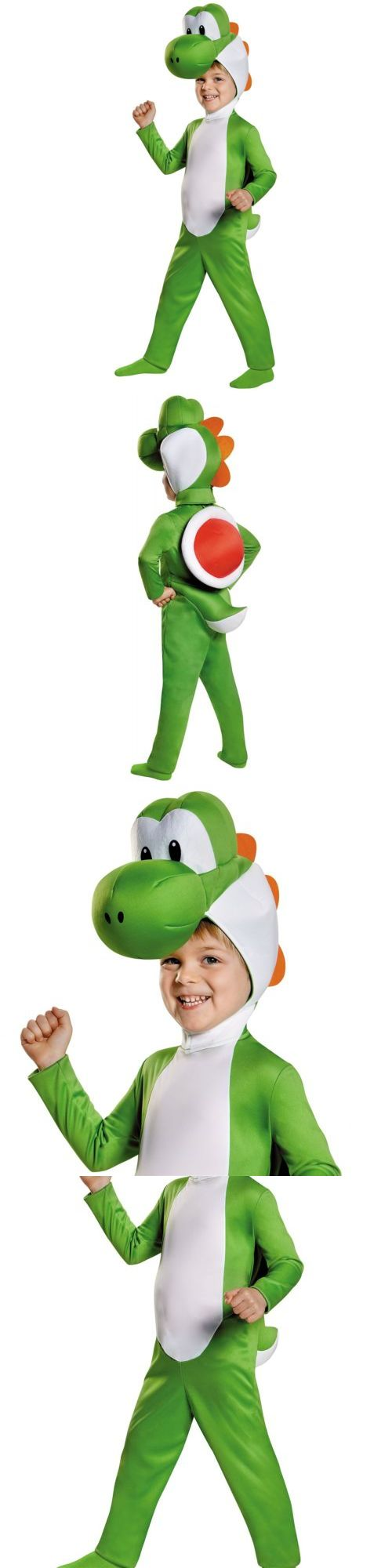 Infants and Toddlers 90635: Yoshi Costume Mario Brothers Halloween Fancy Dress -> BUY IT NOW ONLY: $33.39 on eBay!