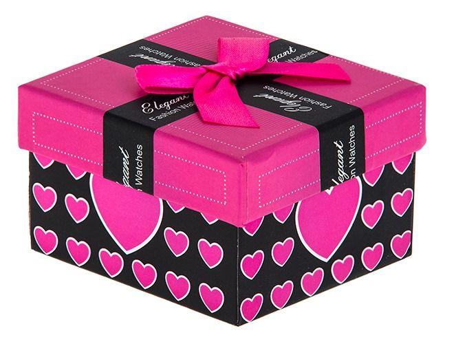 GIFT BOX Pudełko pudełeczko na PREZENT zegarek biżuterię