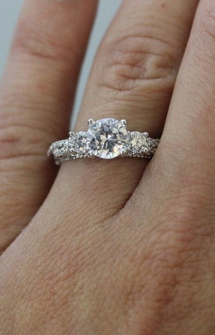The most popular engagement ring on Pinterest costs less than you think