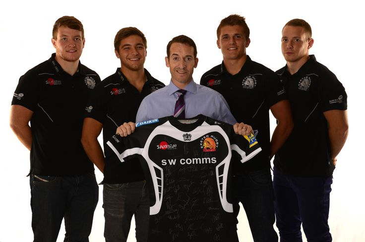 Partner Andy Perkins with the Exeter Chiefs