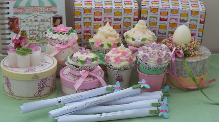 Le mie cup cake fiorite