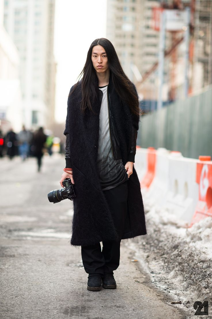 Street style: A photog that understands fades and blends in fashion, too