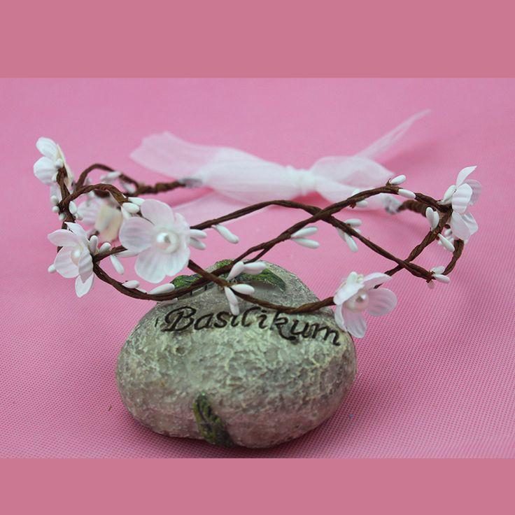 Mode fleur bandeau cheveux de mariée mariage accessoires Floral couronne bohème Halo couronne de fleurs rose fleur artificielle couronne dans Accessoires de cheveux de Accessoires et vêtements pour femmes sur AliExpress.com | Alibaba Group