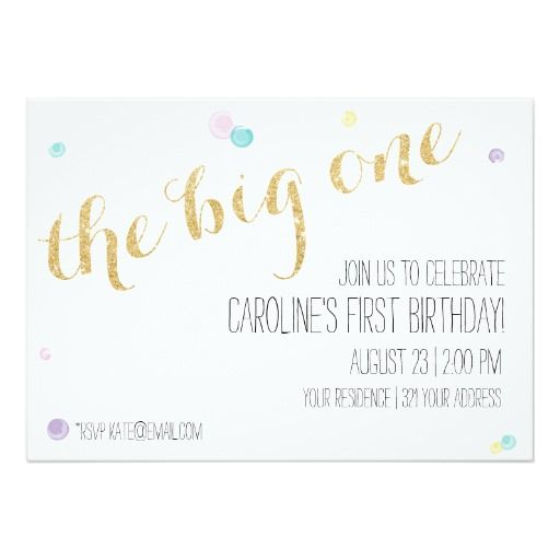 The 25+ best First birthday invitation cards ideas on Pinterest - birthday invitation letter sample