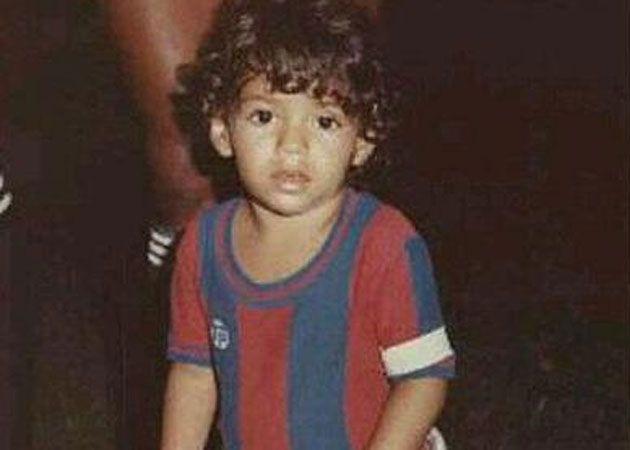 El pequeño Radamel Falcao