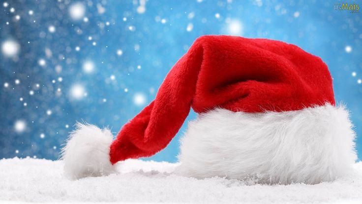 Papel de Parede Gorro de Natal