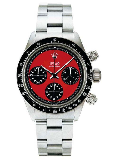 Rolex Daytona red dial ref 6263