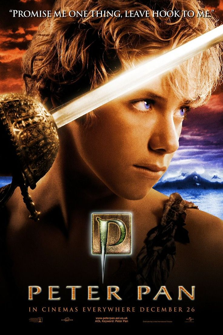 Peter Pan (2003 version). The Darling family children receive a visit from Peter Pan, who takes them to Never Never Land where an ongoing war with the evil Pirate Captain Hook is taking place.  #fantasy #fairytale