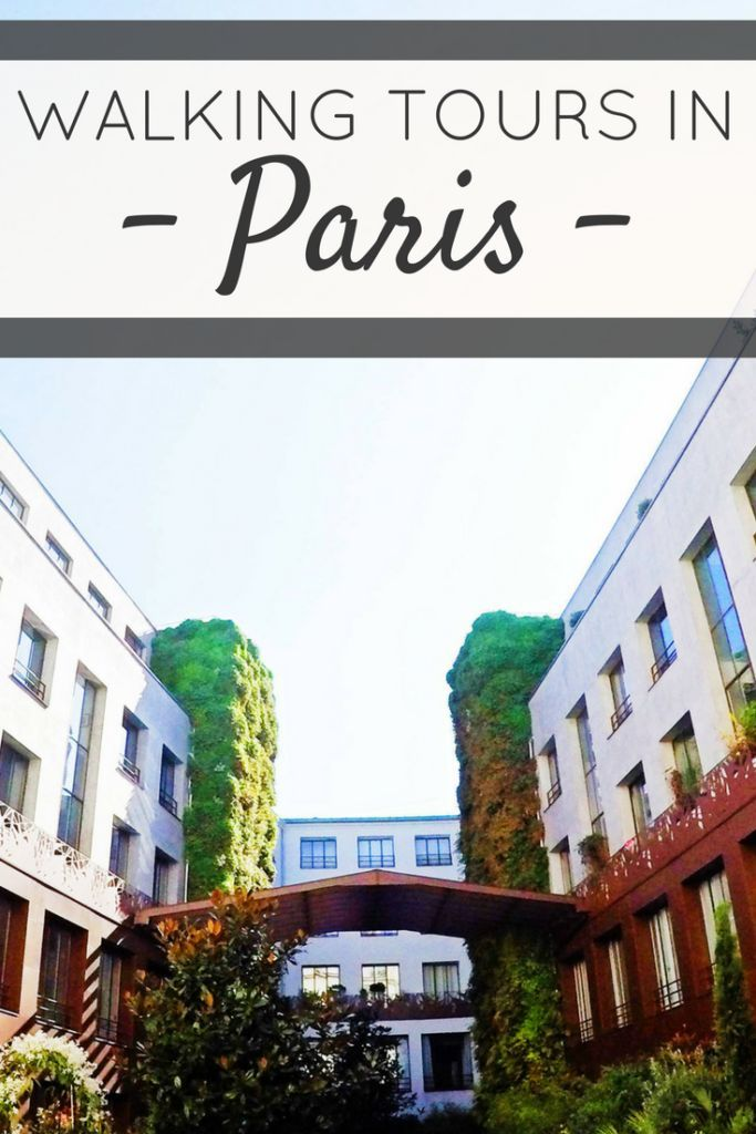 A great way to rediscover Paris, France with a walking tour. Interkultur has many original walking tours.