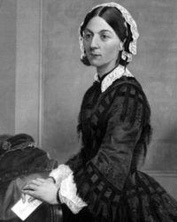 International Nurses Day -  photography Florence Nightingale, pioneering work in nursing