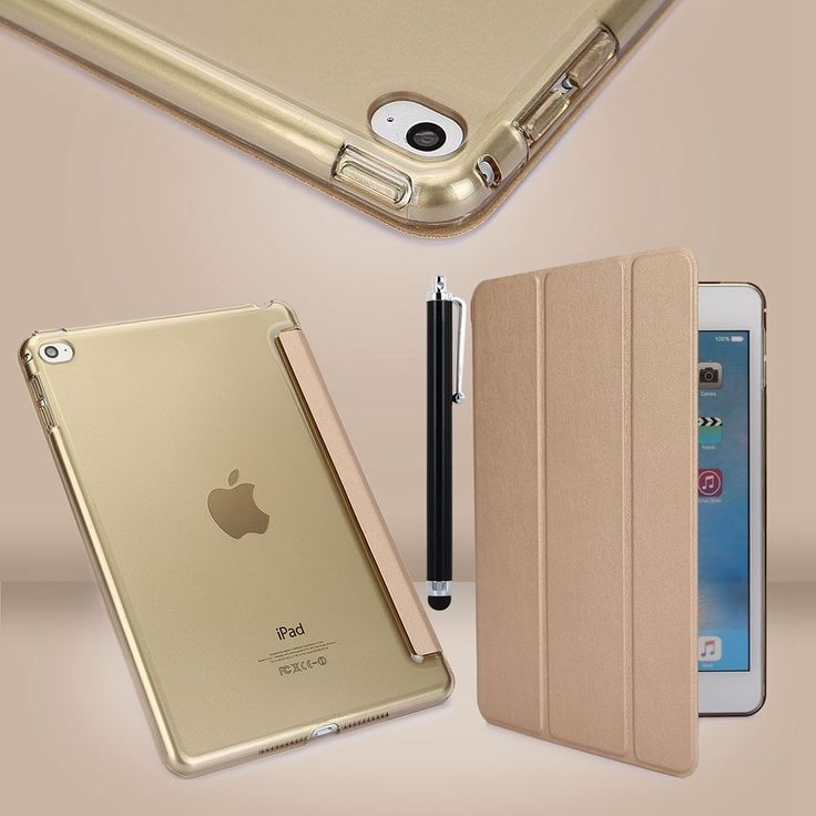 Slim-Magnetic-Leather-Smart-Cover-Case-Back-for-Apple-iPad-mini-1-2-3-4-Air-1-2