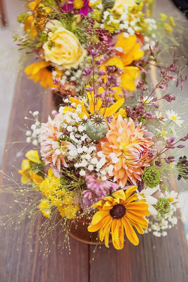 California Hippie Chic Wedding Ideas | RuffledRuffled