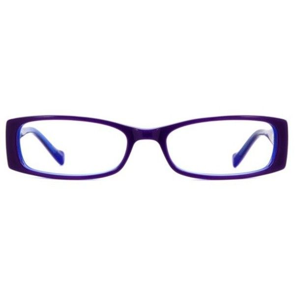 Lucky Brand Michelle Women's Eyeglasses ($125) ❤ liked on Polyvore featuring accessories, eyewear, eyeglasses, purple, acetate glasses, rectangle eyeglasses, purple eyeglasses, bear glasses and lucky brand eyeglasses