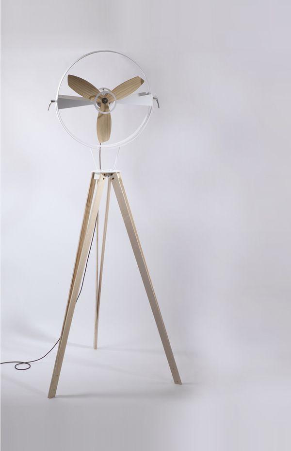 Fan (c) Fan by Marco Gallegos, via Behance.  This is pretty wonderful. I wonder how loud it is