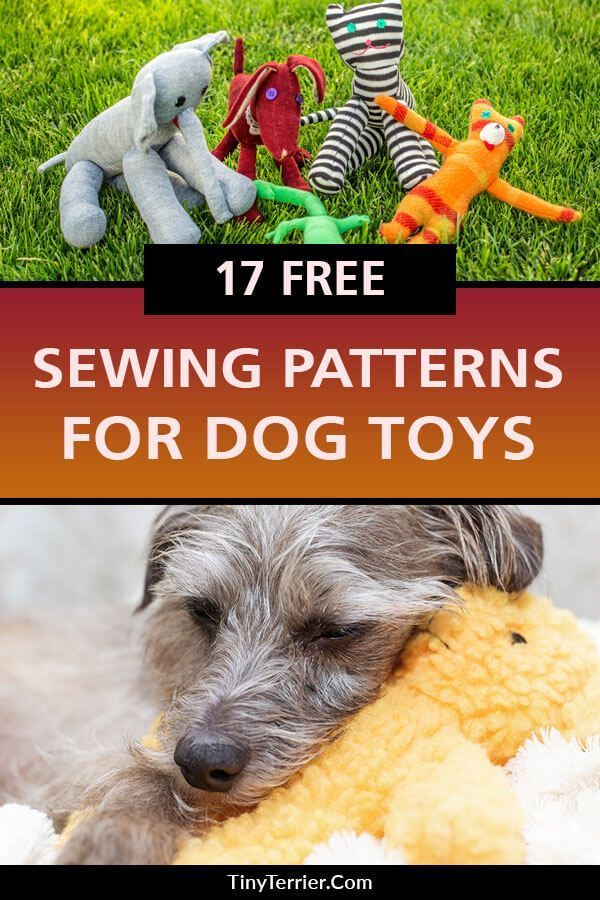 17 Free Dog Toy Sewing Patterns Your Pooch Will Love Tough Dog