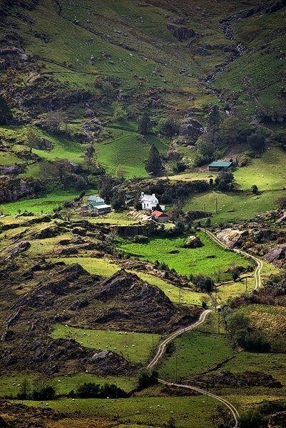 Ireland, Cork & Kerry, Beara Peninsula, Healy Pass
