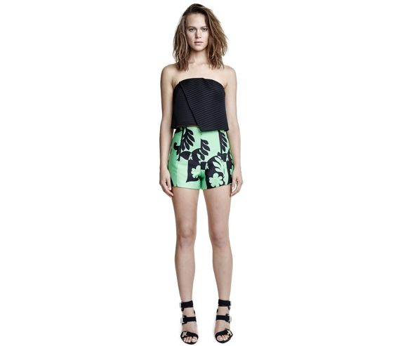 MANNING CARTELL - Green peace womens short. Made in Australia.