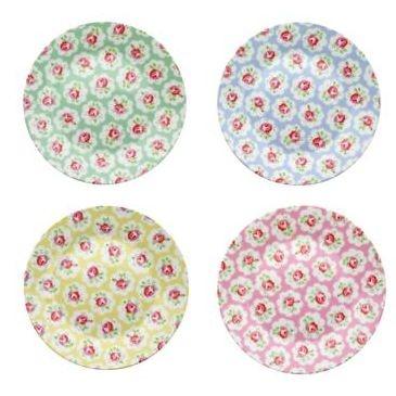 Picnic PlatesCathkidston, Cath Kidson, Side Plates, Cath Kidston, Provence Rose, Picnics Plates, Dollhouse Miniatures, Paper Plates, Miniatures Plates