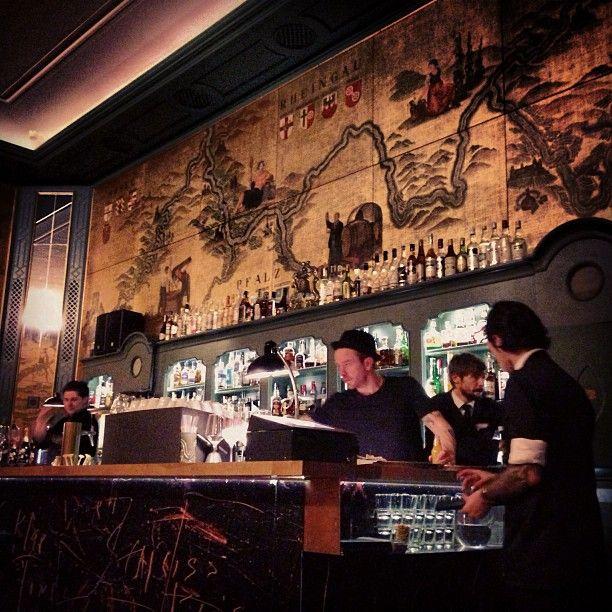 Die Goldene Bar à München, Bayern is serving #Lillet