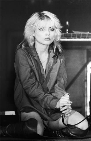 Debbie Harry as we know the sweetheart                                                                Simply The First Grey Existence etc ...