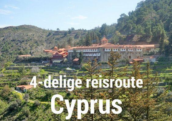 Roadtrip Cyprus? Zie hier een 4-delige route waarmee je in 14 dagen het zuiden en het westen van Cyprus, de Griekstalige Republiek Cyprus, verkent.