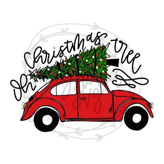 Christmas Truck Svg Christmas Bug Svg Christmas Tree Car Svg Red Christmas Truck Svg Christmas Svg Christmas Sublimation Graphic Files Christmas Truck Christmas Paintings Christmas Art