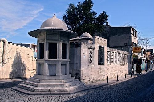 """Tomb of Mimar Sinan -   """"El Fakir-ül- Hakir Sinan"""""""
