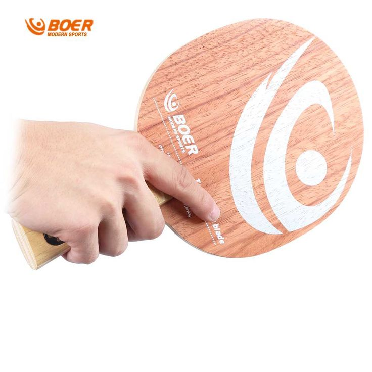 New Arrival BOER High-end Ping Pong Racket Pro Pure Wood Bottom Table Tennis Racket With Rosewood Base Table Tennis Paddle Bat