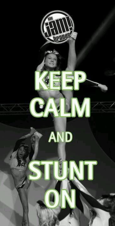 :) cheer stunt - cheerleading. It'd be fun to get fall cheer shirts like this.