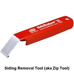 How to Use a Zip Tool to Remove Vinyl Siding: The Vinyl Siding Removal Zip Tool
