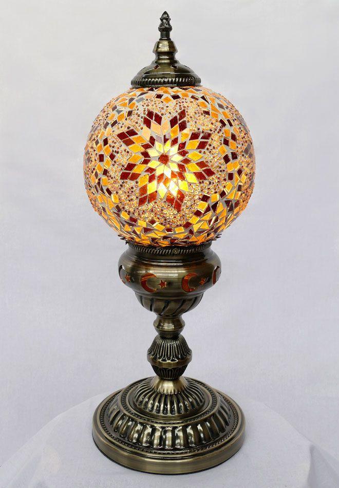 Tischlampe Lampe Orientalisch Turkei Mosaiklampe Orient 1001 Nacht Gm07 A Mosaik Lampen Lampe Tischlampen