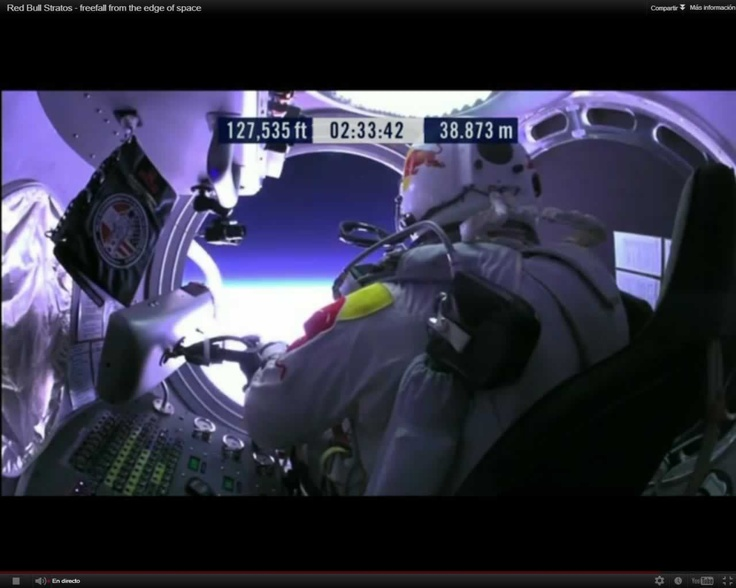 Ready to go @redbullstratos #felibaumgartner