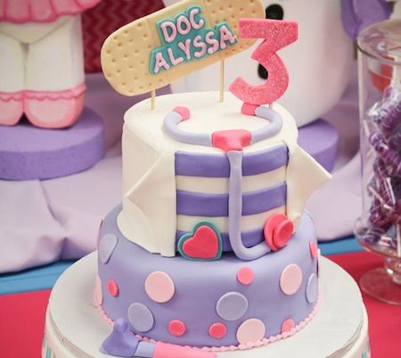 A Doc McStuffins Birthday Party!