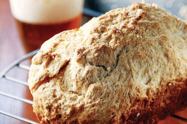 Σπιτικό ψωμί με μπίρα | ΜΑΜΑ ΠΕΙΝΑΩ
