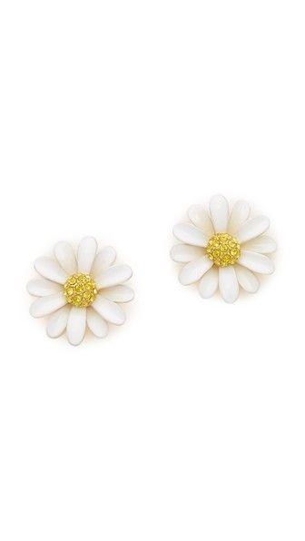 Kate Spade Dazzling Daisies Statement Stud Earrings