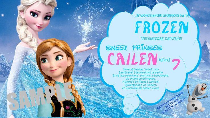 Birthday - Frozen