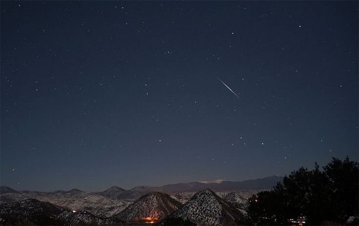From a meteor shower to a full 'wolf moon,' here's what not to miss.