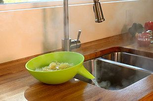 This looks like a strainer someone would use in a sci-fi movie. | 39 Futuristic Kitchen Gadgets You Had No Idea You Needed