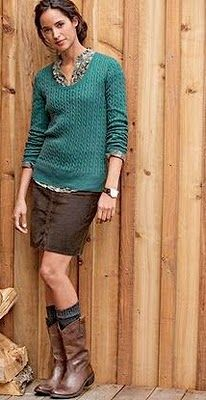 Fall Fashion - I love Eddie Bauer