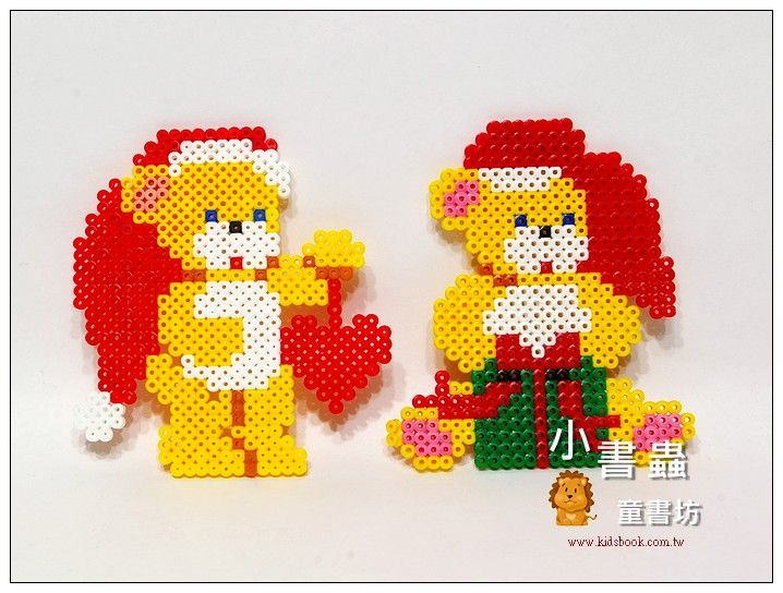 Christmas decorations perler beads
