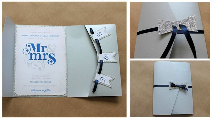 Faire-part DIY invitation customisée