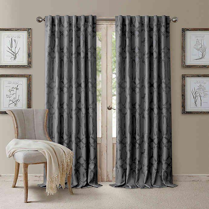 Darla Rod Pocket Back Tab Blackout Window Curtain Panel In 2020