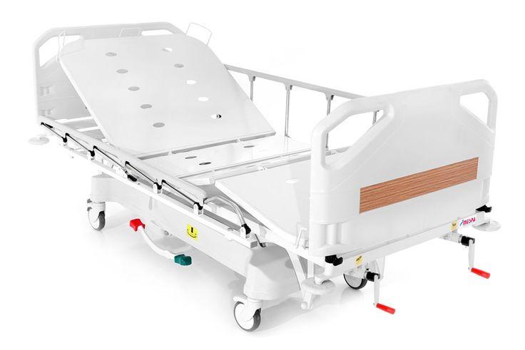ICU bed http://www.mespa.com.tr/en/hospital-beds/manual-beds/item/13-ms-1000.html