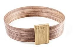 Waist Bälte, it is walnut belt and oak buckle