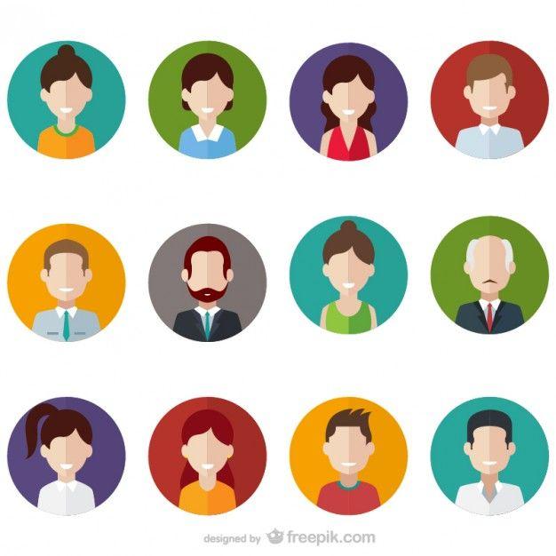 People avatars design