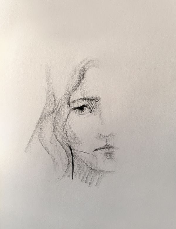 Back to basics with @fabercastellglobal #pittoilbase #soft #fabercastell #sketch #art #artist #workinprogress #selfportrait #halfportrait #black #bw #schwarz #vsco #vscocam #detail #portrait #eye #düsseldorf #germany #arts_help @faber_castelltr @sketchzone @arts_help